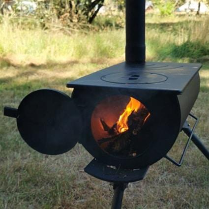 Wood stove veluwe